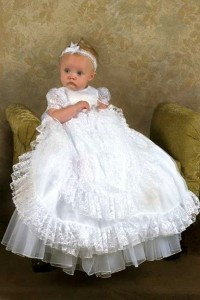 Heirloom Style Christening Gown