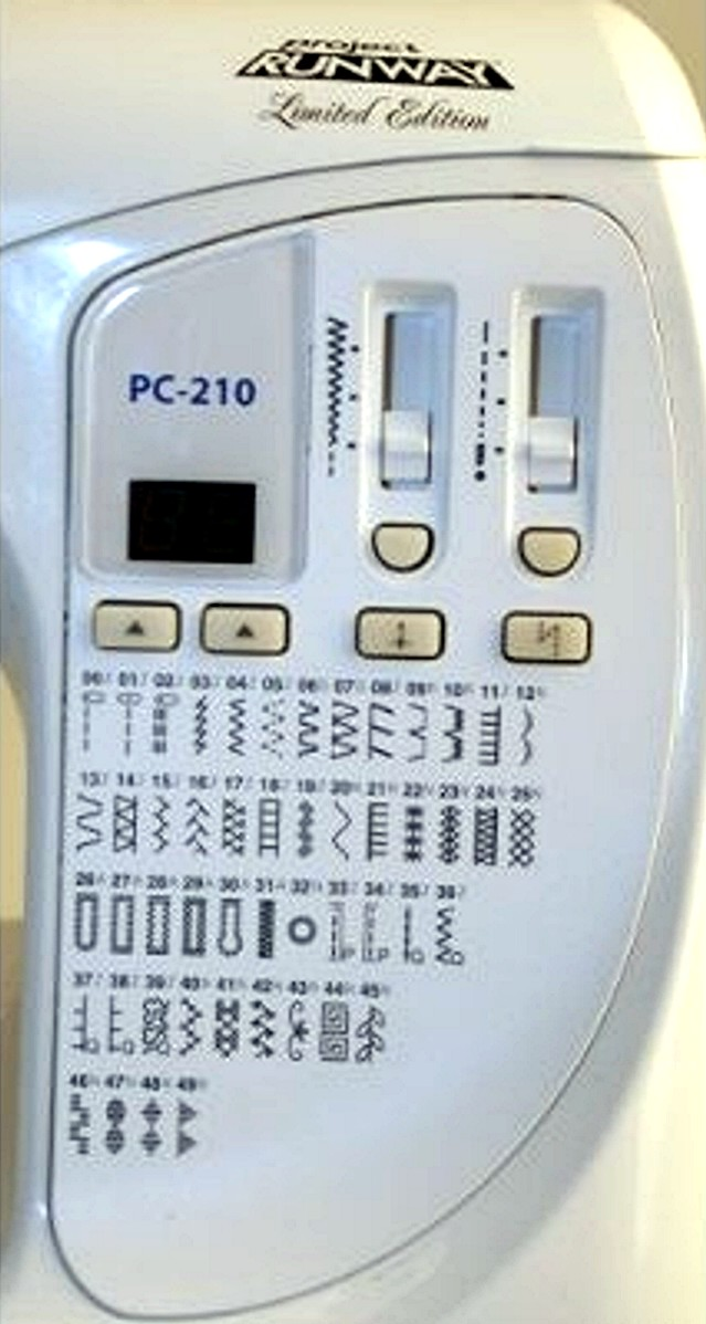 Brother PC 210 PRW Control Panel