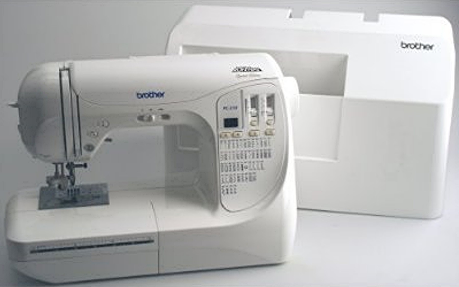 Brother PC 210 PRW Sewing Machine with Hard Case