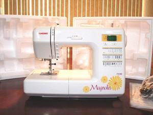 Janome Magnolia 7330 Out of Box