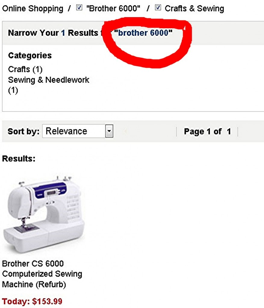 Refurbished Brother CS6000i Sewing Machine