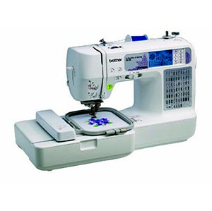 Brother SE 400 Computerized Embroidery Sewing Machine
