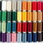 Polyester Embroidery Thread Set