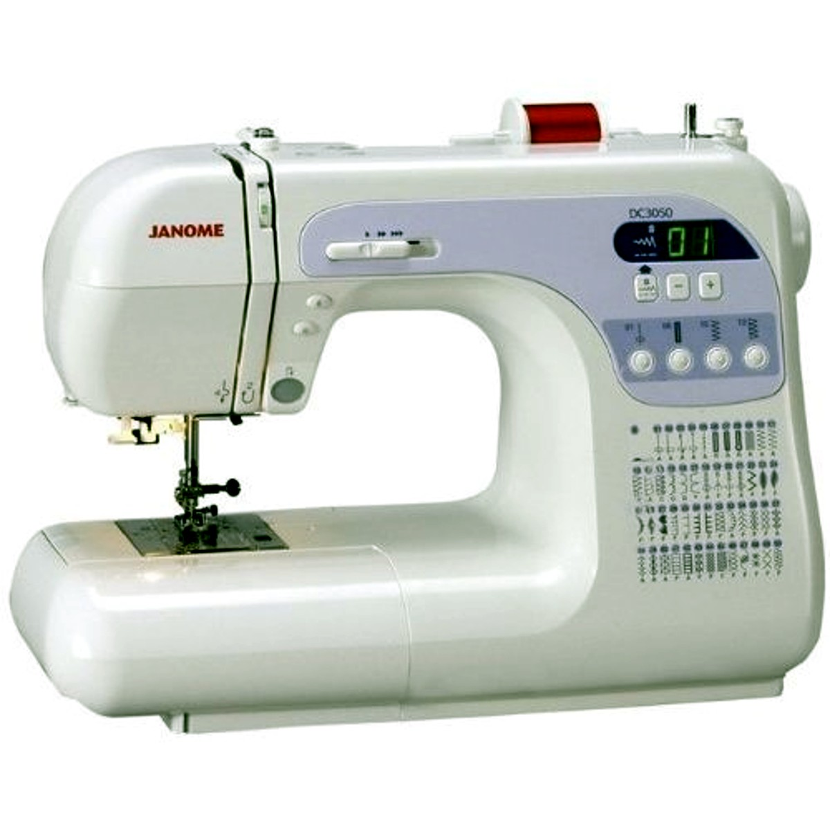 Janome dc sewing machine review
