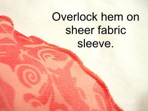 Overlock Hem