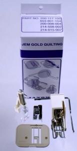 Jem Gold Quilting Kit