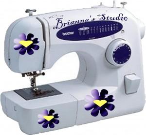 Brianna Design Center Sewing Machine Skin