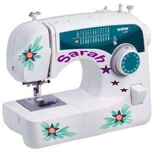 Sarah Personalized Sewing Machine Present