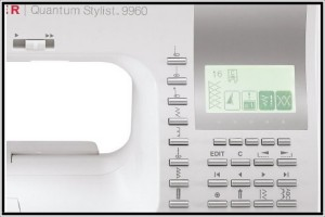 Singer 9960 Control Panel